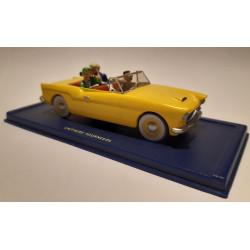 En voiture Tintin (16) - L'affaire Tournesol - La voiture Bordure
