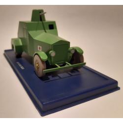 En voiture Tintin (37) - Le lotus bleu - L'automitrailleuse blindée
