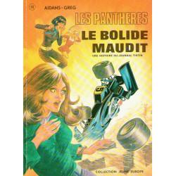 Les Panthères (3) - Le bolide maudit