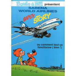 Boule et Bill (HS) - Sabena World Airlines - Safety story