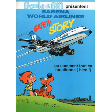 1-boule-et-bill-hs-sabena-world-airlines-safety-story