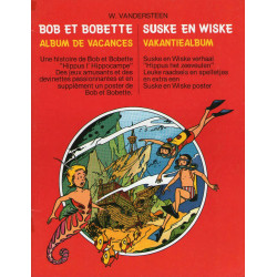 Bob et Bobette Album de vacances - Hippus, l'hippocampe