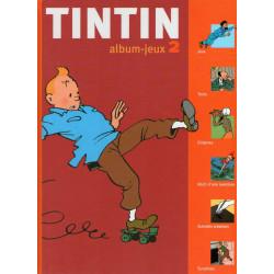 Tintin album jeux