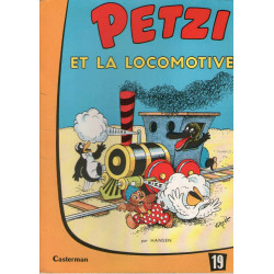 Petzi (19) - Petzi et la locomotive