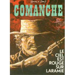 Comanche (4) - Le ciel est rouge sur Laramie