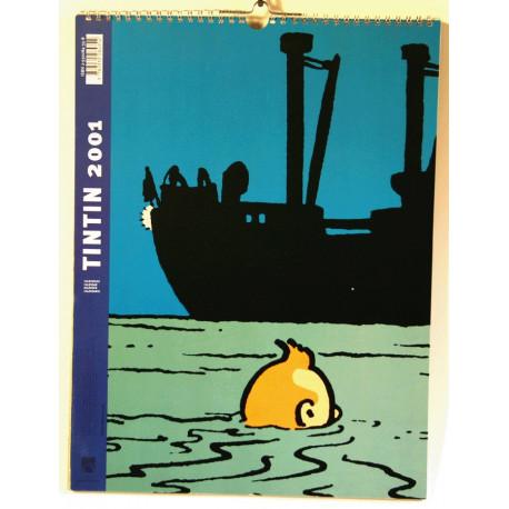 1-calendrier-2001-tintin-tintin-2001