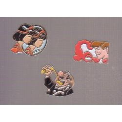 Pins - Zodiaque - Ric Hochet - Agent 212 - Yoko Tsuno