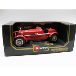 Die-cast metal with plastic parts - Alfa Roméo 8C 2300 Monza (1931)