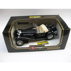 Die-cast metal with plastic parts - Mercedes Benz 500 K roadster (1936)