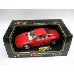 Die-cast metal with plastic parts - Ferrari 348 TB (1989)