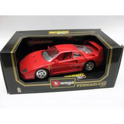 Die-cast metal with plastic parts - Ferrari F 40 (1987)