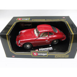 Die-cast metal with plastic parts - Porsche 356 B coupé (1961)