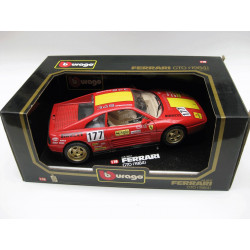 Die-cast metal with plastic parts - Ferrari GTO (1984)