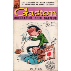 Gaston Lagaffe (GDP 26) - Biographie d'un gaffeur