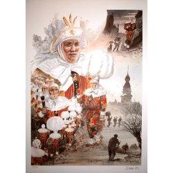 Carnaval de Binche (1) - Jean-François Charles - Journée du mardi gras