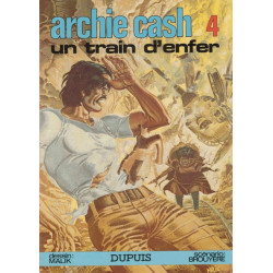 Archie Cash (4) - Un train d'enfer
