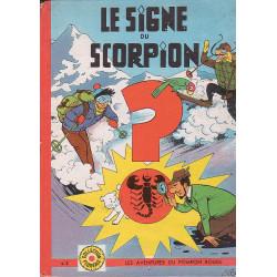 François Bel - Les aventures du Pompon rouge (3) - Le signe du scorpion