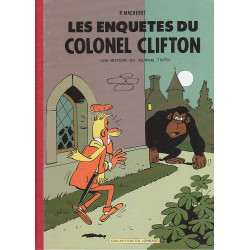 60 ans Lombard - Colonel Clifton - Les enquêtes du Colonel Clifton