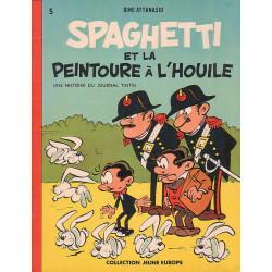 Spaghetti (1) - Spaghetti et la peintoure à l'houile