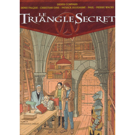 1-le-triangle-secret-4-l-evangile-oublie