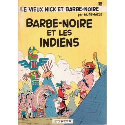 Vieux Nick et Barbe-Noire (12) - Barbe noire et les indiens