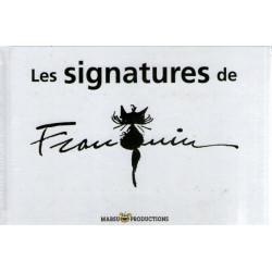 Les signatures de Franquin (1) - Les signatures de Franquin