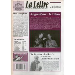 La lettre (40) - Angoulême 1998 - Le bilan