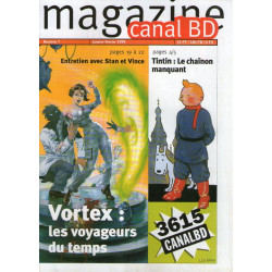 Canal bd magazine (7) - Tintin le chainon manquant