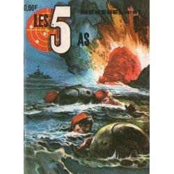 Les 5 as (61) - Le général masqué