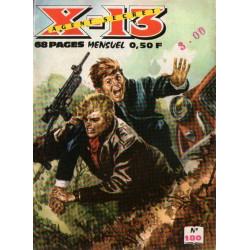 X-13 agent secret (180) - L'anguille