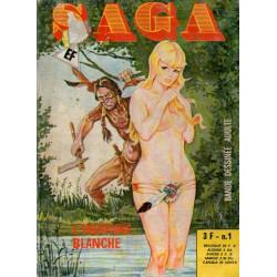 Saga (1) - L'indienne blanche