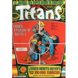 Titans (94) - La guerre des étoiles - Codes Epsilon M. Dzeta Z.