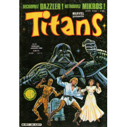 Titans (36) - La guerre des étoiles - Une princesse toute seule