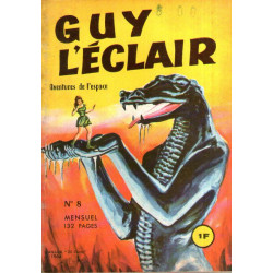 Guy l'Eclair (8) - La ville morte - Les enfants de l'espace