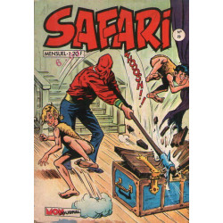 Safari (29) - Le roi Oscar fait des siennes
