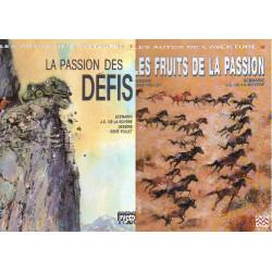 Les autos de l'aventure - Coffret (1+2) - La passion des défis - Les fruits de la passion