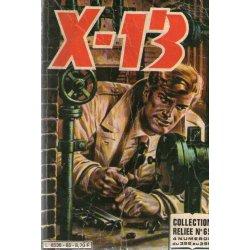 X-13 agent secret Recueil (65) - (392-393-394-395)