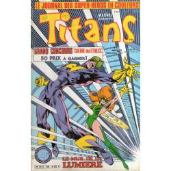 Titans (80) - Le mur de la lumière - Profession : Escroc