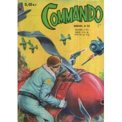 Commando (35) - Les trainards ne reviennent jamais