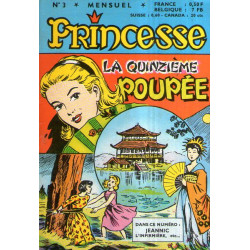 Princesse (3) - La quinzième poupée