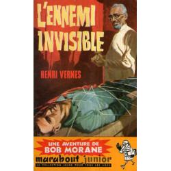 Marabout Junior (154) - L'ennemi invisible - Bob Morane (36)