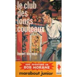 Marabout junior (230) - Le club des longs couteaux - Bob Morane (55) - Dédicacé