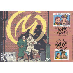 Blake et Mortimer (2004) - Carte commune Belgique - France