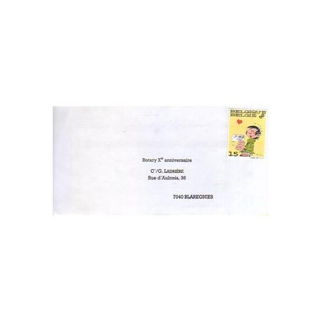 1-gaston-lagaffe-enveloppe-timbree