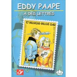 Eddy Paape a des lettres